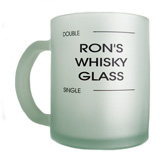 Frosted Glass Mugs